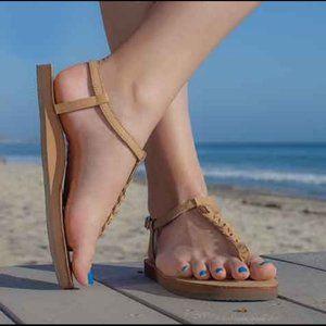 Rainbow Sandal T Street Braided Strap Sandal XL
